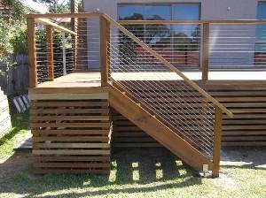 External Timber Stairs